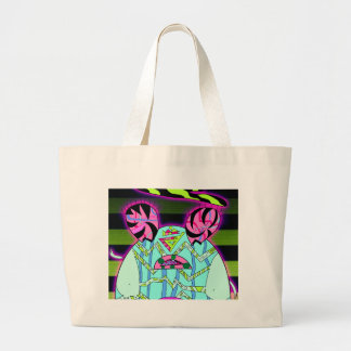 Baby Belly Large Tote Bag