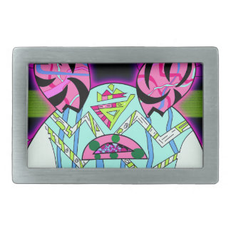 Baby Belly Rectangular Belt Buckle