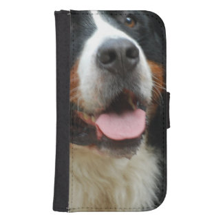 Baby Bernese Mountain Dog Samsung S4 Wallet Case