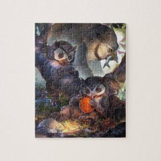 Baby Bestiary - Owlbear Cub Jigsaw Puzzle