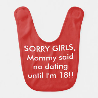 Baby Bib Funny Humor Comedy Mommy Said