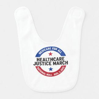 Baby bib - healthcare justice march