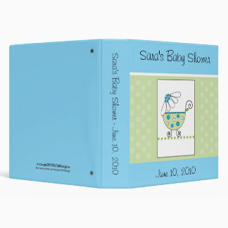Baby Binder Shower Book