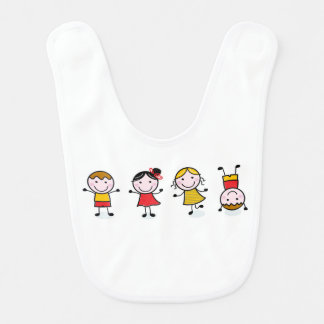 Baby bip with cute Kids Bib