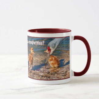 Baby Birds and a Worm Lunch Mug