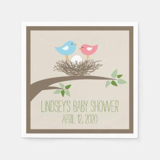 Baby Bird's Nest | Baby Shower Disposable Napkins