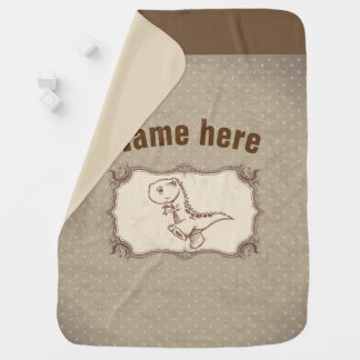 Baby Blanket -dinosaur