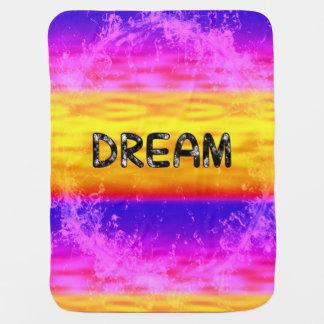 Baby Blanket-DREAM-multicolor Stroller Blankets