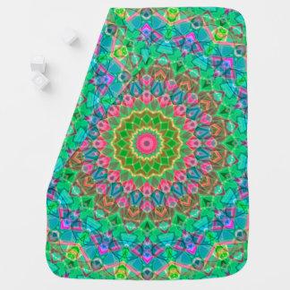Baby Blanket Geometric Mandala G18
