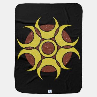 Baby Blanket GRUNGE CIRCLE LOGO