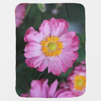 Baby Blanket Pink Flower