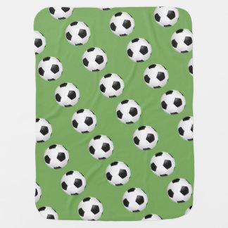 Baby Blanket-Soccer Balls Baby Blankets
