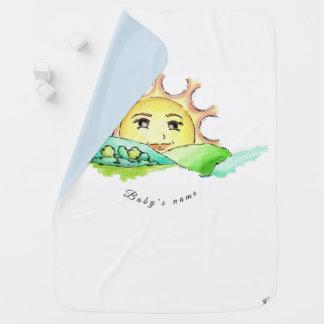 "Baby blanket ""The Sun Catherine"""