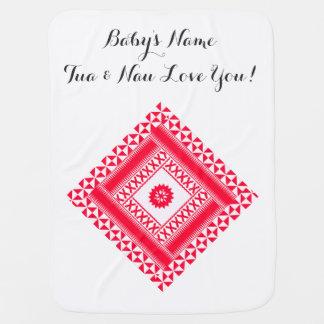 Baby Blanket with Ethnic Masi Print