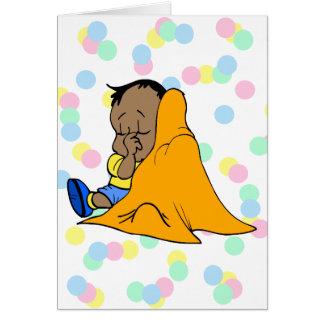 Baby Blankie Card