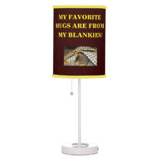 BABY BLANKIE RAT LAMP