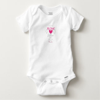 Baby Bling Life Gerber Cotton jumpsuit Baby Onesie