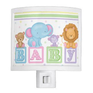 BABY Block Animals Night Light