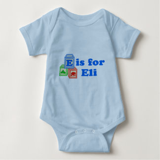 Baby Blocks Eli Baby Bodysuit