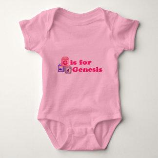 Baby Blocks Genesis Baby Bodysuit