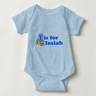 Baby Blocks Isaiah Baby Bodysuit