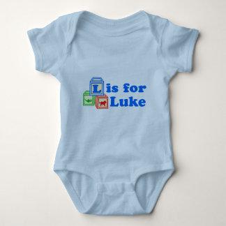 Baby Blocks Luke Baby Bodysuit