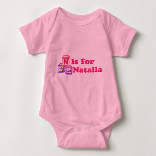 Baby Blocks Natalia Baby Bodysuit