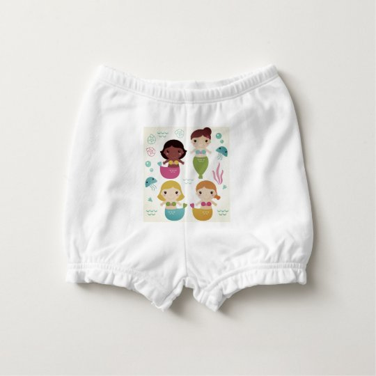 Baby bloomers with mare girls diaper cover
