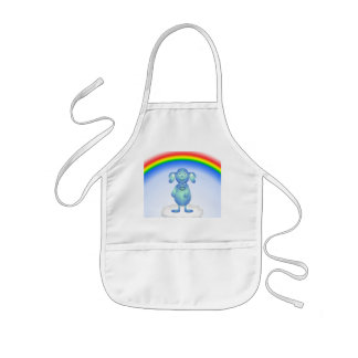 Baby Blu and the Rainbow Kids Apron