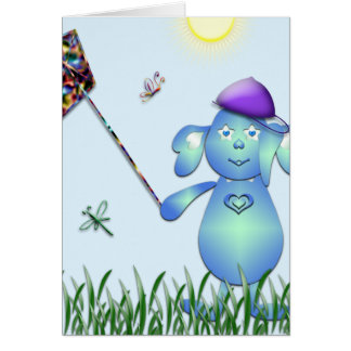 Baby Blu in the Park Card