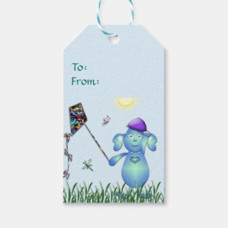 Baby Blu in the Park Gift Tags