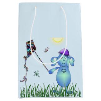 Baby Blu in the Park Medium Gift Bag