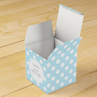Baby Blue and dots ı party box