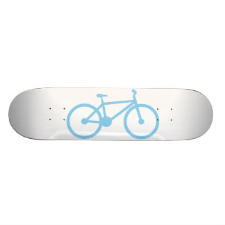 Baby Blue Bicycly Skate Deck