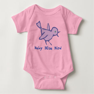 """BABY BLUE BIRD"" Baby T-Shirt"