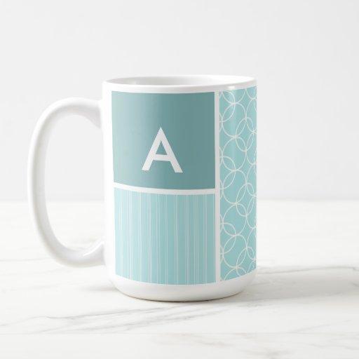 Baby Blue Circles Coffee Mug