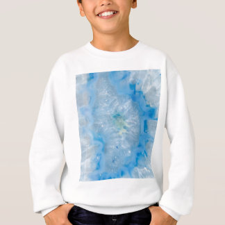 Baby Blue Crystal Agate Sweatshirt