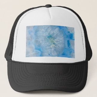 Baby Blue Crystal Agate Trucker Hat