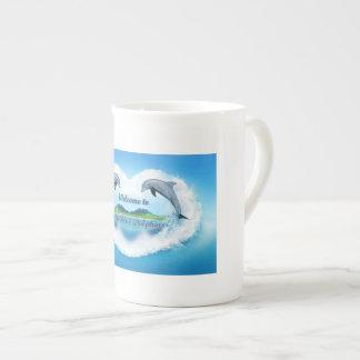 Baby Blue Dolphin 444ml Mug