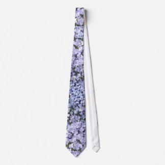 Baby Blue Hydrangea Petals Wedding Tie