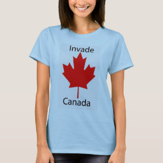 Baby blue invading of canada T-Shirt