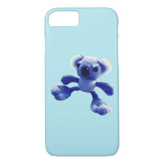 Baby blue koala bear Case-Mate iPhone case