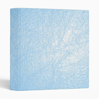 baby blue leather texture binder