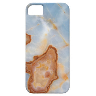 Baby Blue Marble with Rusty Veining iPhone 5 Covers