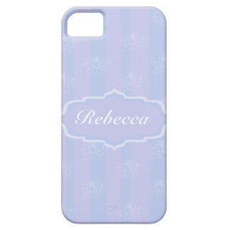 Baby Blue personalized delicate Lotus pattern Case For The iPhone 5