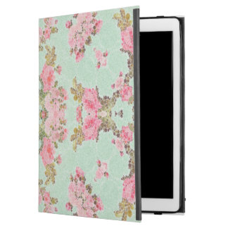 "Baby Blue Pink Flower Abstract iPad Pro 12.9"" Case"