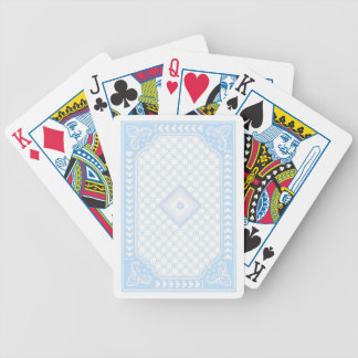 Baby Blue Streamline Bicycle Playing Cards