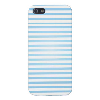 baby blue striped iphone case iPhone 5/5S covers