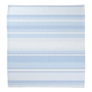 Baby blue stripes bandanas