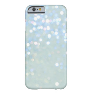 Baby Blue/White Glitter iPhone 6 case Barely There iPhone 6 Case